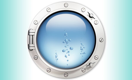 Submerged Water Bearings:  Rulon W2 From Fresh Water to Chemical Tanks