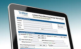 Bearing Design Worksheet from TriStar Plastics