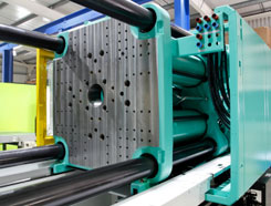 Rulon injection molding components