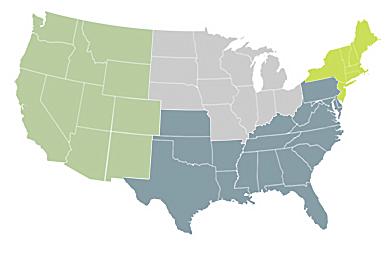 TriStar Branch Location Map