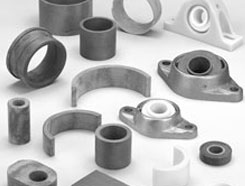Types of plastic bearings