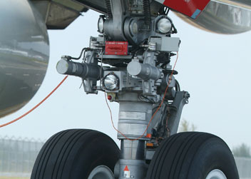 Aircraft Bearings - Polymer pivots, steers and lifts with better performance