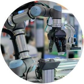 Composite bearings for robotics
