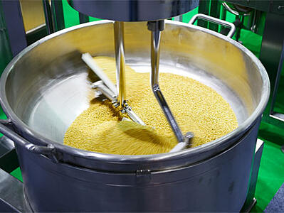 Composite bearings for food mixers
