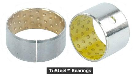 TriSteel Metal-Backed Plastic Bearings