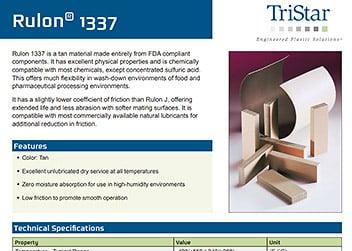 Rulon 1337 Specs