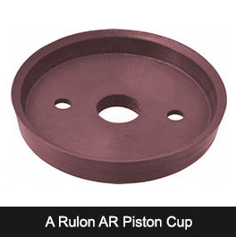 A Rulon AR Piston Cup