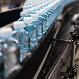 Beverage bottling production line