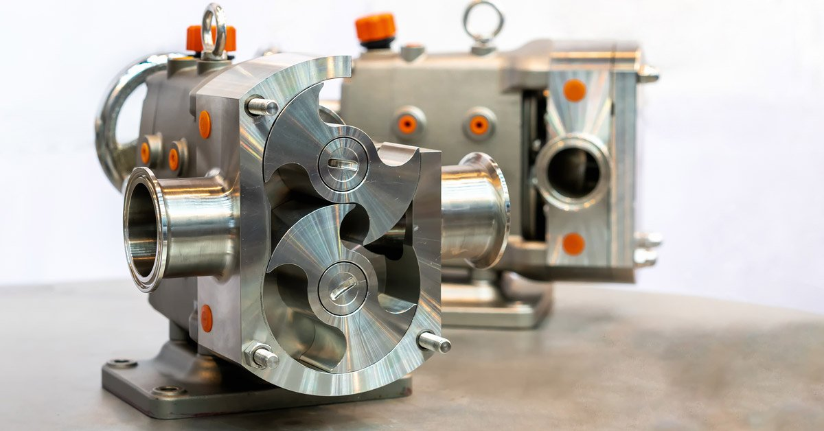 Special PEEK Rotor Insert Eliminates Failure in Chemical Pump