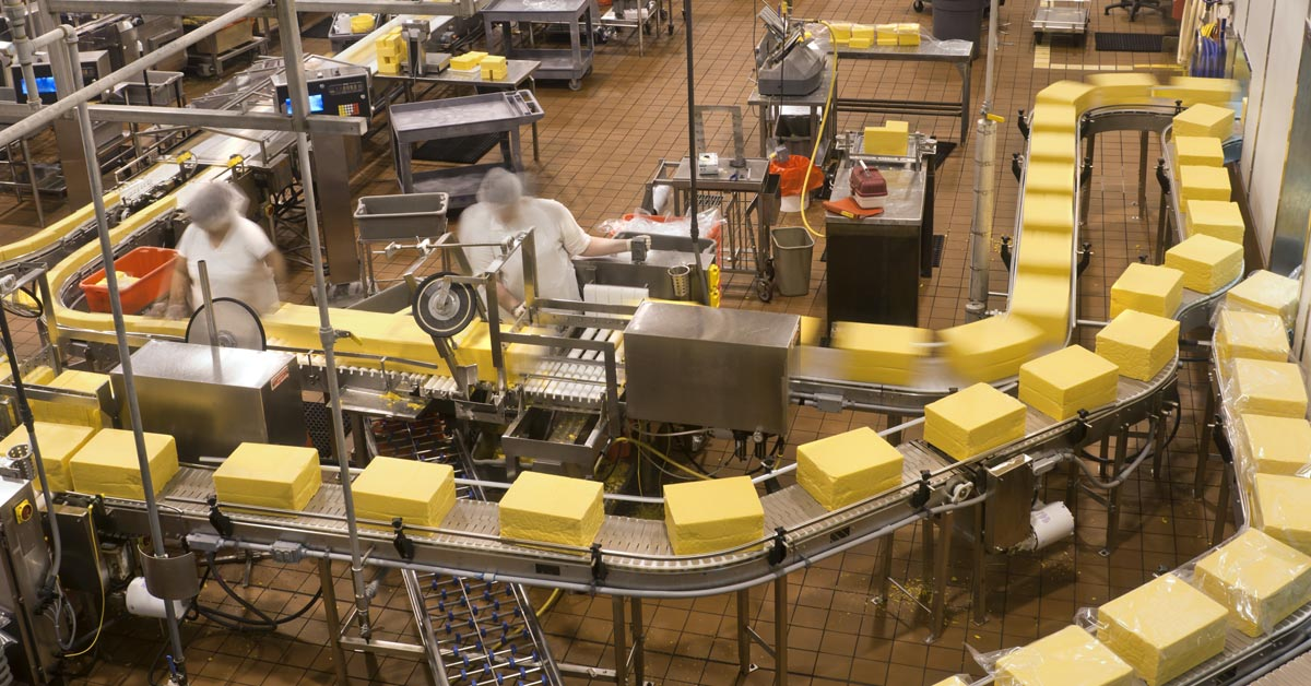 Advanced Materials Improve Uptime & Outcomes in Cheese Manufacturing
