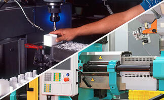 Plastic Fabrication Review: Machining vs. Injection Molding