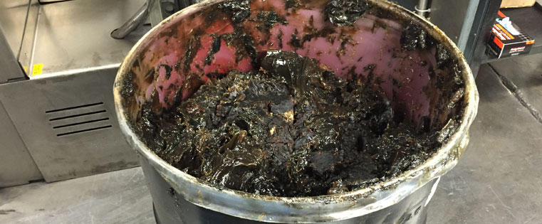 bucket of grease removed from production line by switching to self-lubricating composite bushings