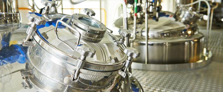Rulon 1439 USP bearings in a pharma mixing application