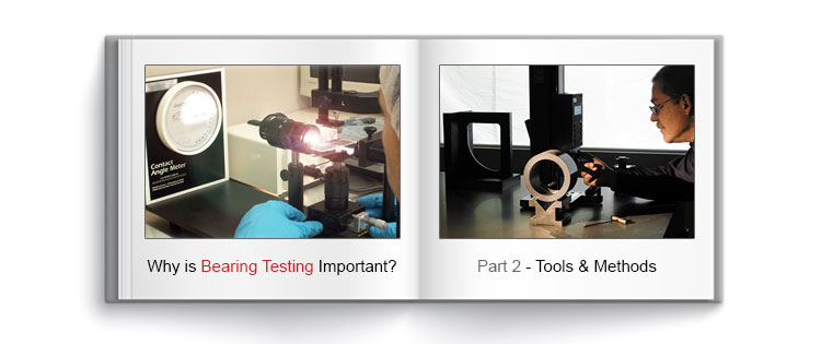 Why is plastic bearing testing important?
