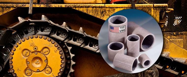 CJ Bearings – USA Manufactured Composite Wound Bearings