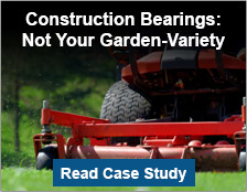 Construction Bearings: Not Your Garden-Variety