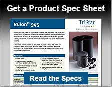 Rulon 945 Spec Sheet