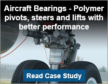 Aircraft Bearings - Polymer pivots, steers and lifts